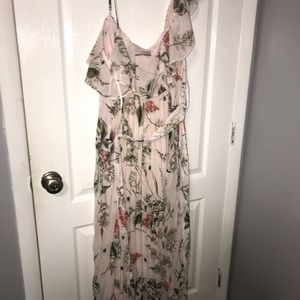 ca78734a55 premier amour Dresses | Blush Floral Maxi Dress | Poshmark